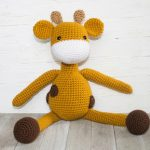 The Friendly Giraffe Amigurumi Free Crochet
