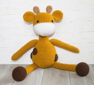 The Friendly Giraffe Amigurumi Free Crochet