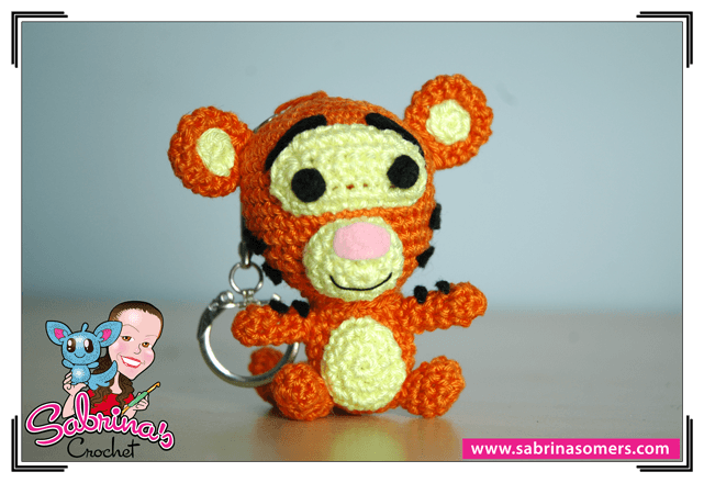 Thomas the Tiger Free Amigurumi Pattern | Jess Huff | 440x641
