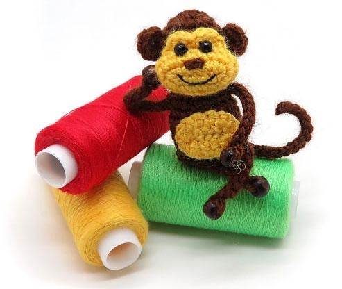 Tiny the Monkey FREE amigurumi pattern