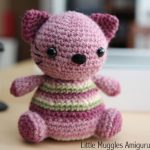 Violet the Kitty free amigurumi pattern