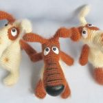 free crochet dog pattern