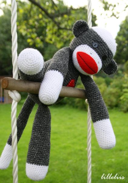 Free Crochet Sock Monkey Pattern Crochet Kingdom