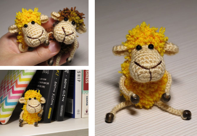 little sheep free crochet pattern