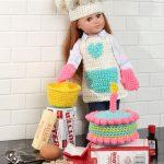 Baking Chef Doll Free Crochet Pattern