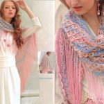 Beautiful Crochet Shawl with Diagrams