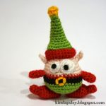 Berg the Christmas Elf Free Amigurumi Crochet Pattern