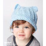 Bernat Baby Crochet Kitty Hat Free Pattern