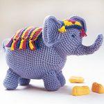 Fere Elephant crochet toy pattern