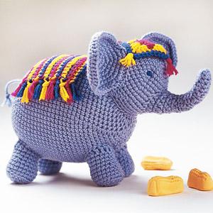 PATTERN: #crochet elephant toy - amigurumi elephant - jungle ... | 300x300