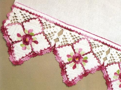 Mores than 20 Crochet Borders and Edgings to Crochet with ...