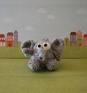 Egmont the Elephant Free Amigurumi Crochet Pattern