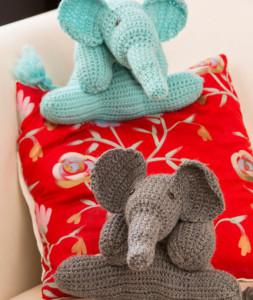 Elephant Friends Free Toy Crochet Pattern