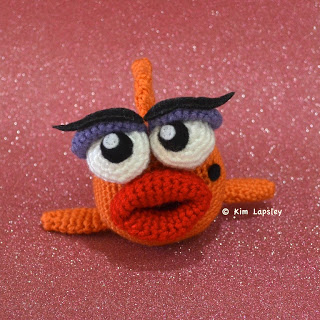 Fancy Crochet Goldfish Patterns {Video} | The WHOot | 320x320