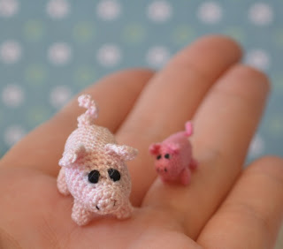 Micro Pig Free Amigurumi Crochet Pattern