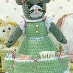 Nursery Caddy Cat Crochet Pattern
