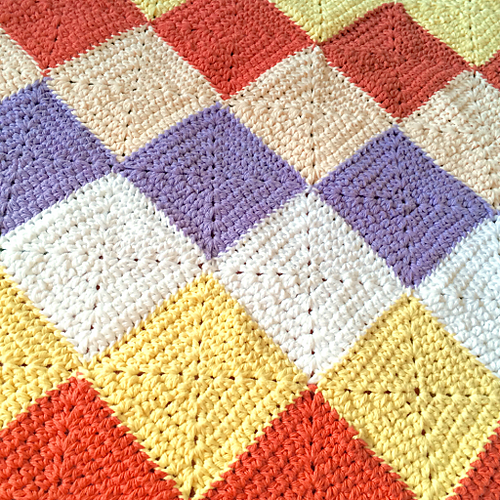 free crochet baby blanket with squares Archives ? Crochet ...
