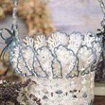 Ruffled Basket Free Crochet Pattern