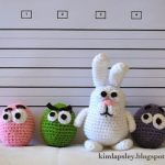 The Easter Bunny and the Googy-eggs Free Amigurumi Crochet Pattern