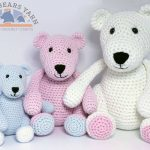 The Three Bears Crochet Pattern Amigurumi