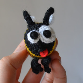 Worker Bee Free Amigurumi Crochet Pattern