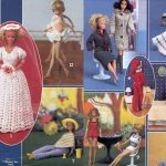 1980's Crocheted Barbie Doll Clothes