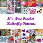 50+ Free Crochet Butterfly Patterns