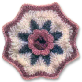A Blanket of Roses Afghan Free Crochet Pattern