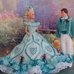Belle-Of-The-Ball-Barbie Crochet Clothes Pattern
