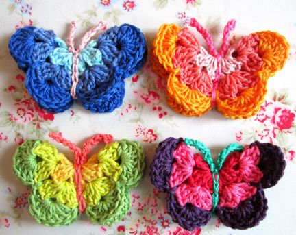 50 Free Crochet Butterfly Patterns Crochet Kingdom