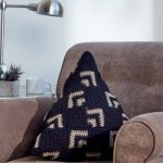 Crochet Mosaic Pillow Free Experienced Crochet Pattern