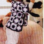 crochet baby jacket squares