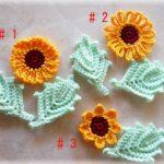 Free Sunflowers Crochet Pattern