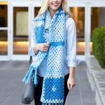 Great Granny Crochet Scarf Free Pattern