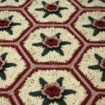 Malmaison Hexagonal Rosy Motif Free Crochet Pattern