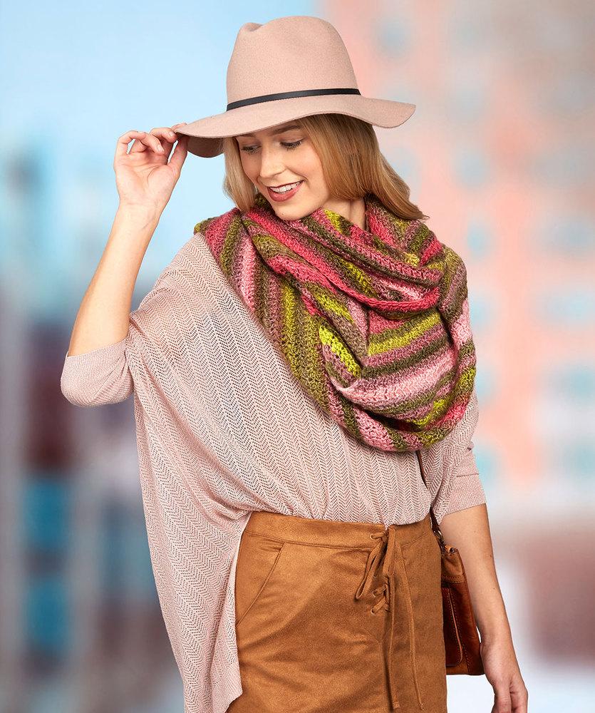 free striped scarf crochet pattern Archives ⋆ Crochet Kingdom (1 ...