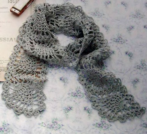 Free Pineapple Scarf Crochet Patterns Archives Crochet Kingdom 3