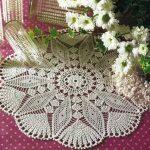 Star Doily Crochet pattern diagram