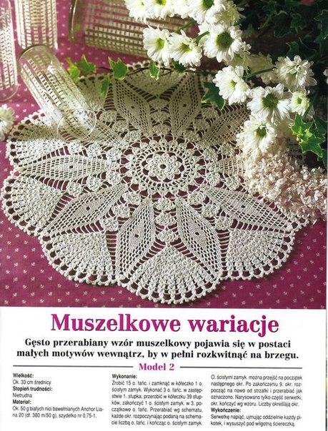 Star Doily Crochet Pattern Diagram  U22c6 Crochet Kingdom