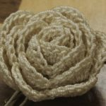 Strip Method Crochet Rose