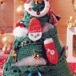 Cute Crochet Christmas Tree