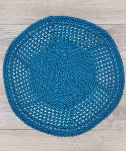 Stylish Outdoor Mat Free Crochet Pattern