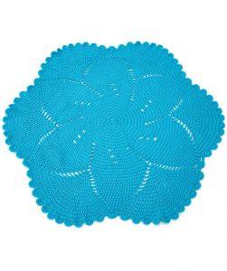 Scalloped Baby Blanket Free Crochet Pattern