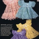 Baby Heirloom Wardrobe 4 Crochet Dress Patterns for Little Girls!