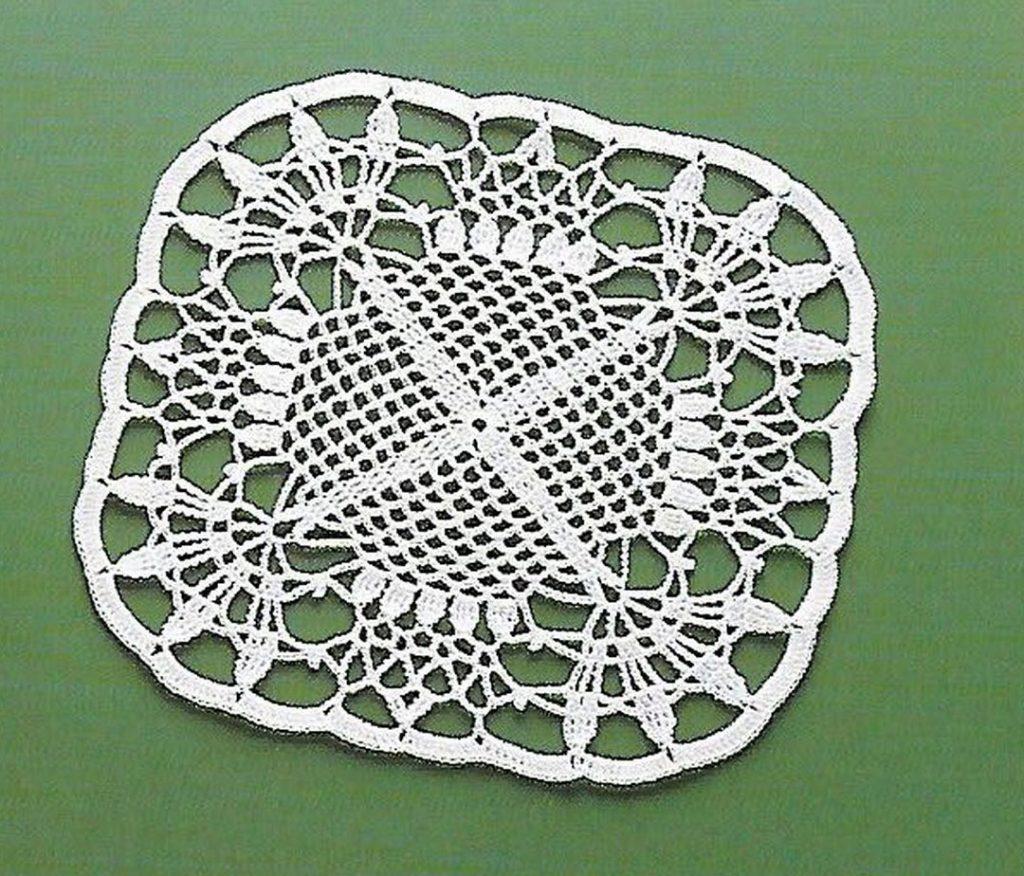 Beautiful Lace Square Crochet Pattern