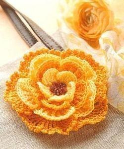 Crochet flower pattern free new