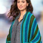 Dropstitch Cocoon Sweater Free Crochet Pattern