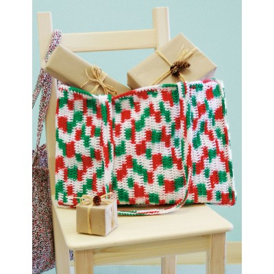 Easy Shopping Tote Free Crochet Pattern