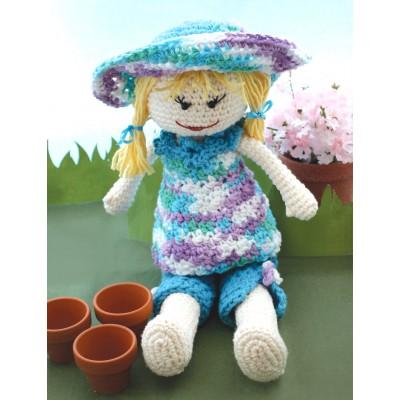Garden Lily Doll Crochet Pattern Free