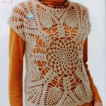 Large Pineapple Mandala Top Crochet Pattern